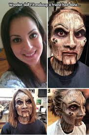 FunniestMemes.com - Funniest Memes - [Wooden Doll Fx Make Up On A ... via Relatably.com