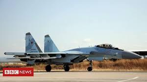 Syria war: Russian jets 'bomb IS positions in <b>desert</b> region' - BBC ...