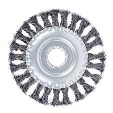 <b>ЕРМАК Щетка</b> металл. для УШМ125мм/22мм, крученая, дисковая ...