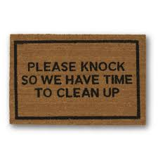hello door mat doormat door mat welcome mat polka by lorustique please knock brown coir doormat