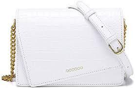 GengGeng <b>Shoulder</b> Bag <b>Crocodile Pattern</b> Small Square Bag ...