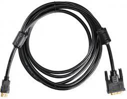 <b>Кабель</b> HDMI- <b>DVI</b>-<b>D</b> 3.0<b>м Buro</b> позолоченные контакты ...