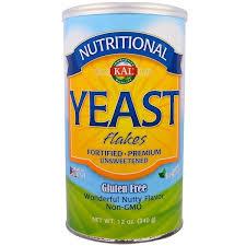KAL, <b>Пищевые дрожжи</b>, хлопья 12 унций(340 г)   Пищевые ...