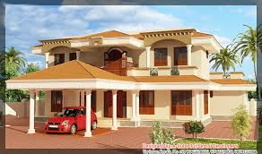 Latest Kerala home plan at sq ft