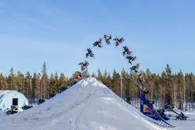daniel bodin first snowmobile double backflip video