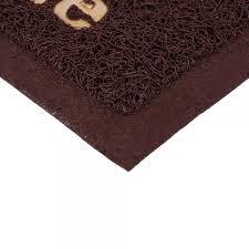 <b>Коврик VORTEX пористый с</b> надписью 50х70см коричневый ...