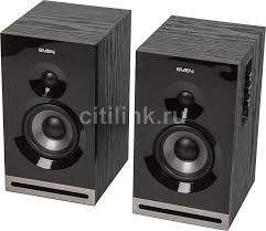 Купить <b>Колонки SVEN SPS-705</b>, 2.0, черный в интернет-магазине ...