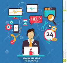 flat design lance career administrative assistance stock lance career administrative assistance