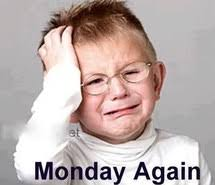 Tomorrow is monday oh no - Funny Pictures, - image #1129944 by ... via Relatably.com
