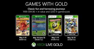 Xbox Games with <b>Gold</b> May <b>2019</b> free games announced - Polygon