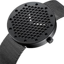 <b>CRRJU</b> Fashion Honeycomb Dial Men Watch Stainless Steel ...