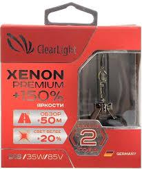 Купить <b>Clearlight Xenon D1S 2шт</b> в Москве: цена Clearlight Xenon ...