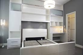 overhead bedroom storage