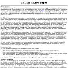 Research Article Review Write An Essay Home