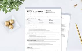 clean resume template best word resume template