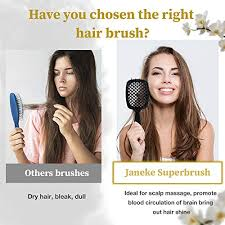 <b>Janeke Superbrush</b> Detangler Brush Anti-s- Buy Online in ...