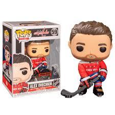 <b>Фигурка Funko POP Hockey</b>: Washington Capitals - Alex Ovechkin ...