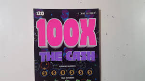 brand new x the cash texas lottery scratch off ticket 20 100x the cash texas lottery scratch off ticket