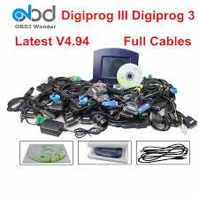 Full Set Digiprog3 Digiprog 3 V4.94 FTDI Odometer Programmer ...
