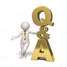 q a icon gold questions and answers d man stock photo gold questions and answers icon a 3d businessman standing near isolated photo by jocky