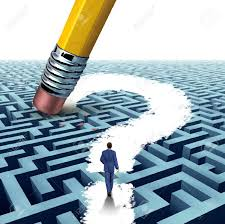 leadership questions searching for solutions a businessman leadership questions searching for solutions a businessman walking through a complicated maze opened up by