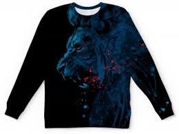 Львы 1. Вес льва может достигать 350... - <b>Printio</b>.ru - Новый ...