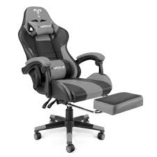 <b>Furgle Office Chair</b> with Footrest Gaming Chair Massager Lumbar ...