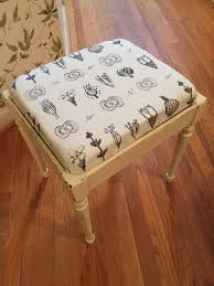 vintage bench painted in annie sloan chalk paint old white and lightly distressed with bench bench painted chalk paint