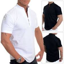 Large Size Men's Business Casual Long Sleeved Shirt White ... - Vova