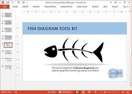 animated fishbone powerpoint templateishikawa diagram  other than powerpoint  this animated fishbone presentation template