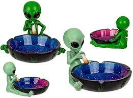 Horror-Shop Ashtray <b>Alien</b> With <b>Joint</b>, 1 Piece: Amazon.co.uk: Toys ...