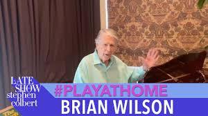 "<b>Brian Wilson</b> ""Love and Mercy"" - Late Show #PlayAtHome - YouTube"