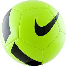 <b>Мяч футбольный NIKE Pitch</b> Team р.5, салатовый