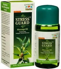 Stress Guard Oil - <b>массажное масло</b> для успокоения ума, <b>снятия</b> ...
