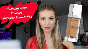 <b>GIVENCHY Teint Couture Everwear</b> Foundation Review and Wear ...