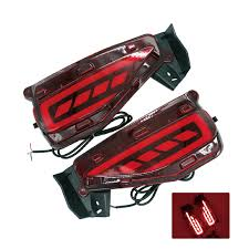 <b>2Pcs</b>/<b>Set</b> SUNKIA <b>New</b> Car Rear Fog <b>Light Lamp</b> Brake Light Car ...