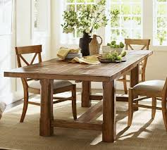 barn kitchen table  images about farmhouse table on pinterest vintage table settings trestle table and pottery barn kitchen