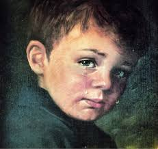 Image result for the crying boy painting