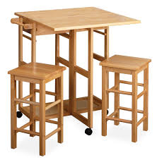dining table with wheels: captivating drop leaf table design performing sturdy wood component with rolling nylon wheels along with fancy seating ideas drop leaf table furniture