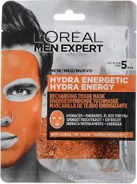 <b>L'Oreal Paris</b> Men Expert Hydra Energetic <b>Тканевая маска</b> ...