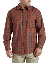 Relaxed Fit <b>Icon</b> Long Sleeve Yarn Dyed <b>Plaid</b> Shirt   Men's shirts ...
