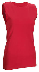 Rosette <b>Women's Sleeveless</b> Undershirt - <b>Cotton</b> - High Neck, Full ...