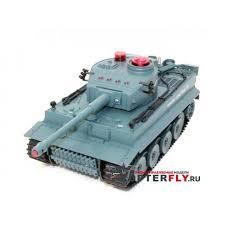 <b>Радиоуправляемый танк Huan Qi</b> Tiger 1:24 для танкового боя ...