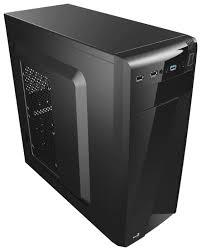 Компьютерный <b>корпус AeroCool CS</b>-<b>1101</b> 600W <b>Black</b> — купить по ...