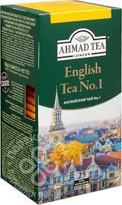 Купить <b>Чай черный</b> Ahmad <b>Tea</b> English №1 25 пак с доставкой на ...