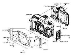 eos 5d mark ii parts catalog parts list & schematics hd cam team on digital camera schematics