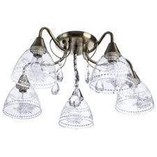 «<b>Потолочная люстра Arte Lamp</b> Rugiada A1658PL-5AB ...
