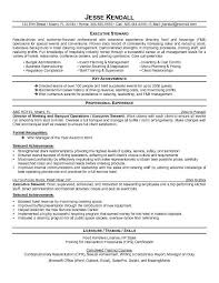 for chef resume objective
