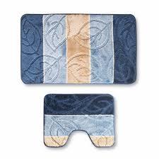 <b>Набор ковриков</b> Sibo Twins синий 2 шт купить по цене 1399 руб. в ...