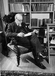 winston churchill wrote of alien life in a lost essay david winston churchill a longtime science enthusiast at his home in kent england in 1939 credit topical press agency via getty images